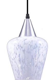 Luminária Pendente Taschibra Venezia Aerado E27 Branca Bivolt
