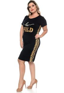 Vestido Be Wild Plus Size