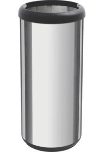 Lixeira Em Aço Inox 40 Litros - Tramontina