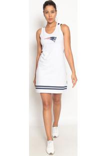 Vestido New England Patriots®- Branco & Azul Marinhonew Era