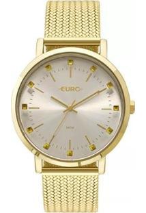 Relógio Feminino Euro Eu2035Ymz/4D Spike Illusion - Feminino-Dourado