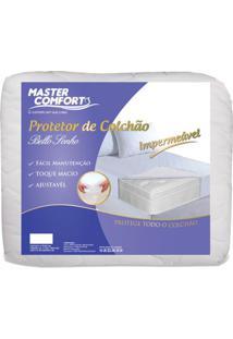 Cama King - Protetor Antialérgico Impermeável Para Colchão King - Master Comfort