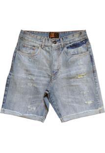 Bermuda Cnx Destroyed Jeans