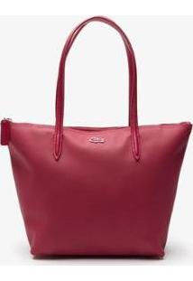 Bolsa Lacoste - Feminino-Rosa+Pink