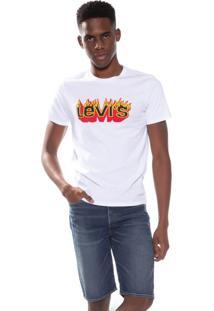 Camiseta Levis Graphic Fire - M