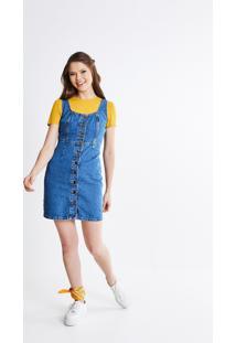 6383effe8b Vestido Curto Jeans feminino
