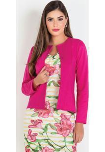 Blazer Pink Moda Evangélica