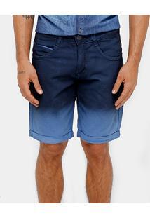 Bermuda Jeans Biotipo Degradê Masculina - Masculino