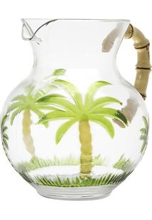 Jarra De Acrílico Palm Tree 2,7L - Bon Gourmet - Verde