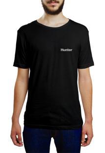 Camiseta Hunter Leão Preta