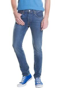 Calça Jeans 501 Skinny Levis - Masculino-Azul