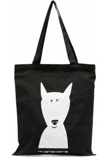 10 Corso Como Bolsa Tote Animal Print - Preto