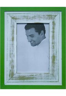 Porta Retratos De Mesa Para Foto 10X15 Cm Verde