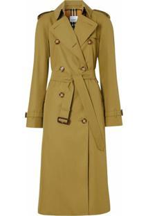 Burberry Trench Coat The Waterloo - Verde
