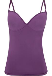 Corpete Hope Push-Up Absoluto Roxo - Roxo - Feminino - Dafiti
