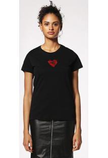 Camiseta Diesel T-Sily-C - Feminino-Preto