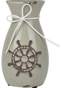 Vaso De Cerâmica Vintage Lemo