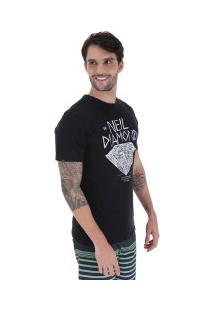 Camiseta Rusty Silk Neil Diamond Sb - Masculina - Preto