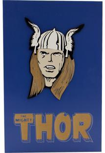 Quadro Zona Criativa Thor Azul