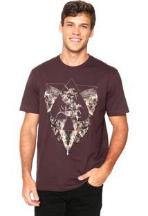 Camiseta Mcd Roots Vinho