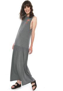 a1063abf97 Vestido Cinza Roxy feminino