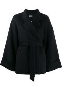 P.A.R.O.S.H. Tie-Waist Jacket - Preto