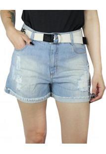 Short Jeans Feminino Instinto