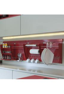 Nicho Porta Detergente Colors Vermelho