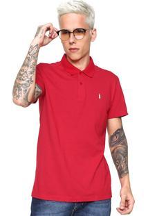 Camisa Polo Coca-Cola Jeans Coke Star Vermelha