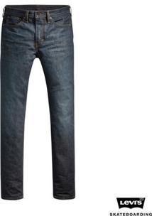Calça Jeans Levis Masculino Skateboarding 511 Slim Média - Masculino-Azul