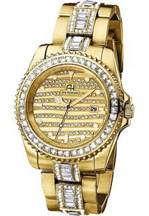 373d6781f90 Relógio Digital Ana Hickmann Dourado feminino