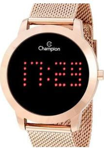 Relógio Champion Feminino Digital Ch40017P - Feminino-Rose Gold