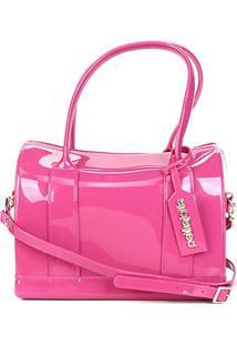 Bolsa Petite Jolie Bloom Feminina - Feminino-Pink