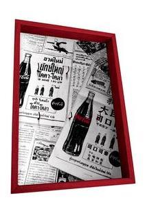 Porta Chaves Coca Cola Jornal Antigo