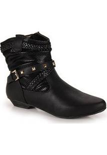 Ankle Boots Feminina Mooncity Cafe