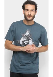 Camiseta Mcd Regular The Crows Masculina - Masculino-Verde Escuro