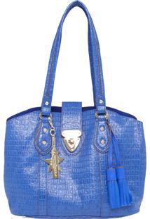 Bolsa Fellipe Krein Handbag By Paloma Bernardi Azul