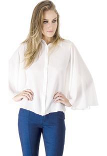 Camisa Alphorria Manga Godê Off White