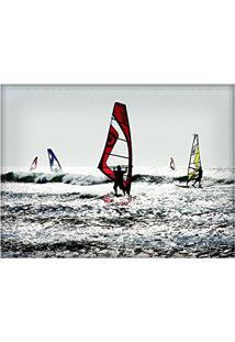 Jogo Americano Decorativo, Criativo E Descolado | Windsurf - Tamanho 30 X 40 Cm