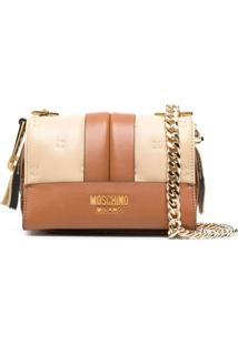 Moschino Bolsa Transversal Inside Out - Neutro