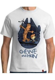 Camiseta Chewie And Han