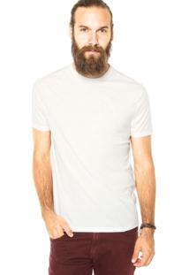 Camiseta Calvin Klein Jeans Relevo Off-White