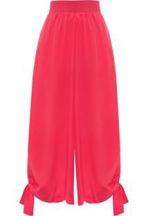 Calça Feminina Jeannie - Vermelha