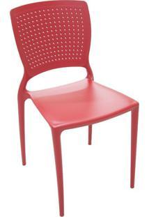 Cadeira Safira I Vermelho