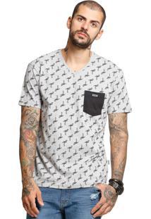 e84b59b98b ... Camiseta Manga Curta Vlcs 18718 Cinza