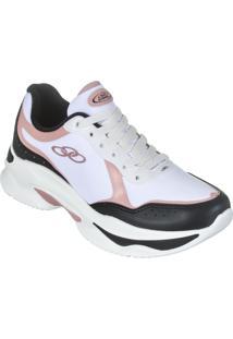 3cbd327e5b World Tennis. Calçado Tênis Sem Costura Moderno Feminino Eva Lee Conforto Casual  Olympikus Trice