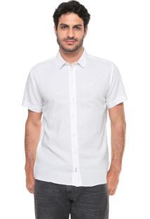 Camisa Linho Forum Smart Off-White