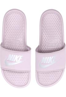 Chinelo Slide Nike Sportswear Wmns Benassi Jdi Rosa