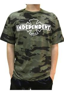 Camiseta Independent Especial Og Camo Camuflada Masculina - Masculino