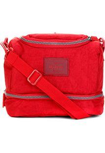 Bolsa Térmica Up4You Crinkle - Masculino-Vermelho